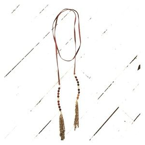 Anthropologie wrap necklace